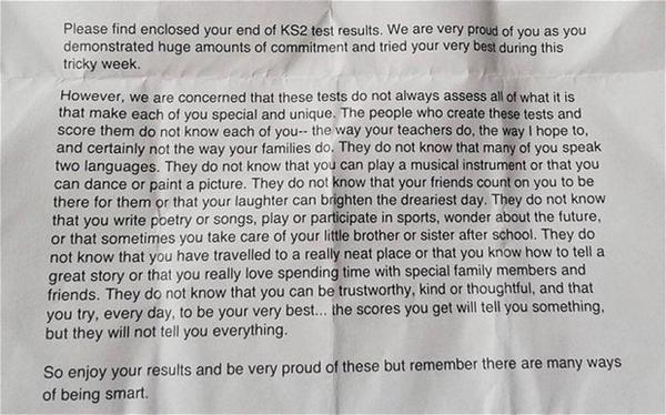 Primary school headteacher's inspirational letter to pupils goes viral http://t.co/barKzzxthm http://t.co/WWY8Q8BXhx