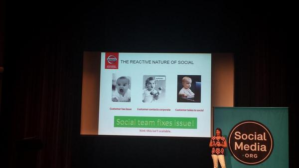 Great slide from @nissan portraying the reactive nature of social :) #custserv #socialmediaorg http://t.co/LLQrUl9nuq