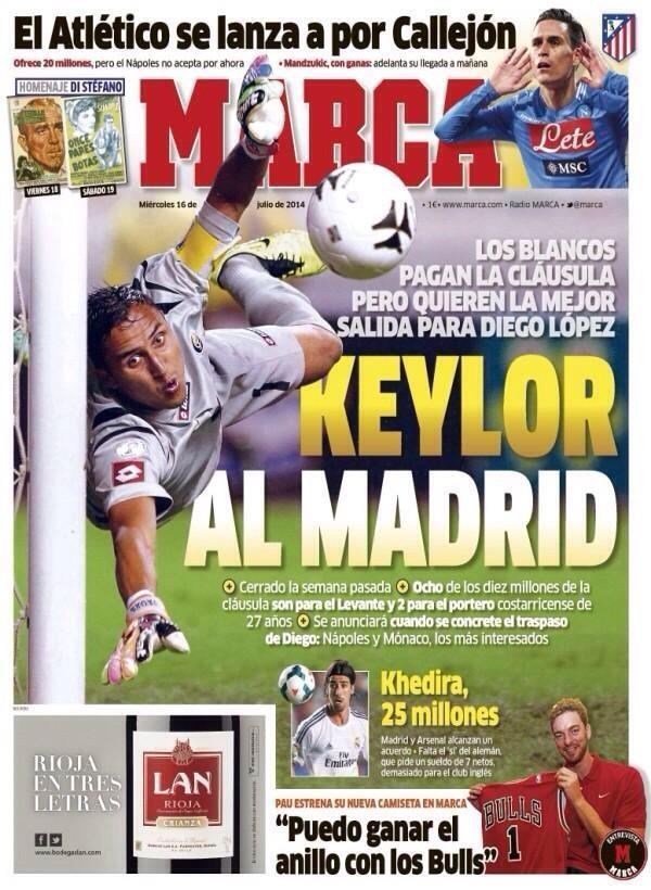 BsnyqhXCIAAVIdx Marca: Arsenal agree €25m fee with Real Madrid for Sami Khedira, wage demands holding up deal