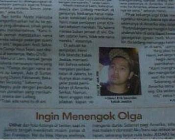 Erick Bana Iskandar (@erickiskandar): Olga...........? http://t.co/FRVNi1h1Ce