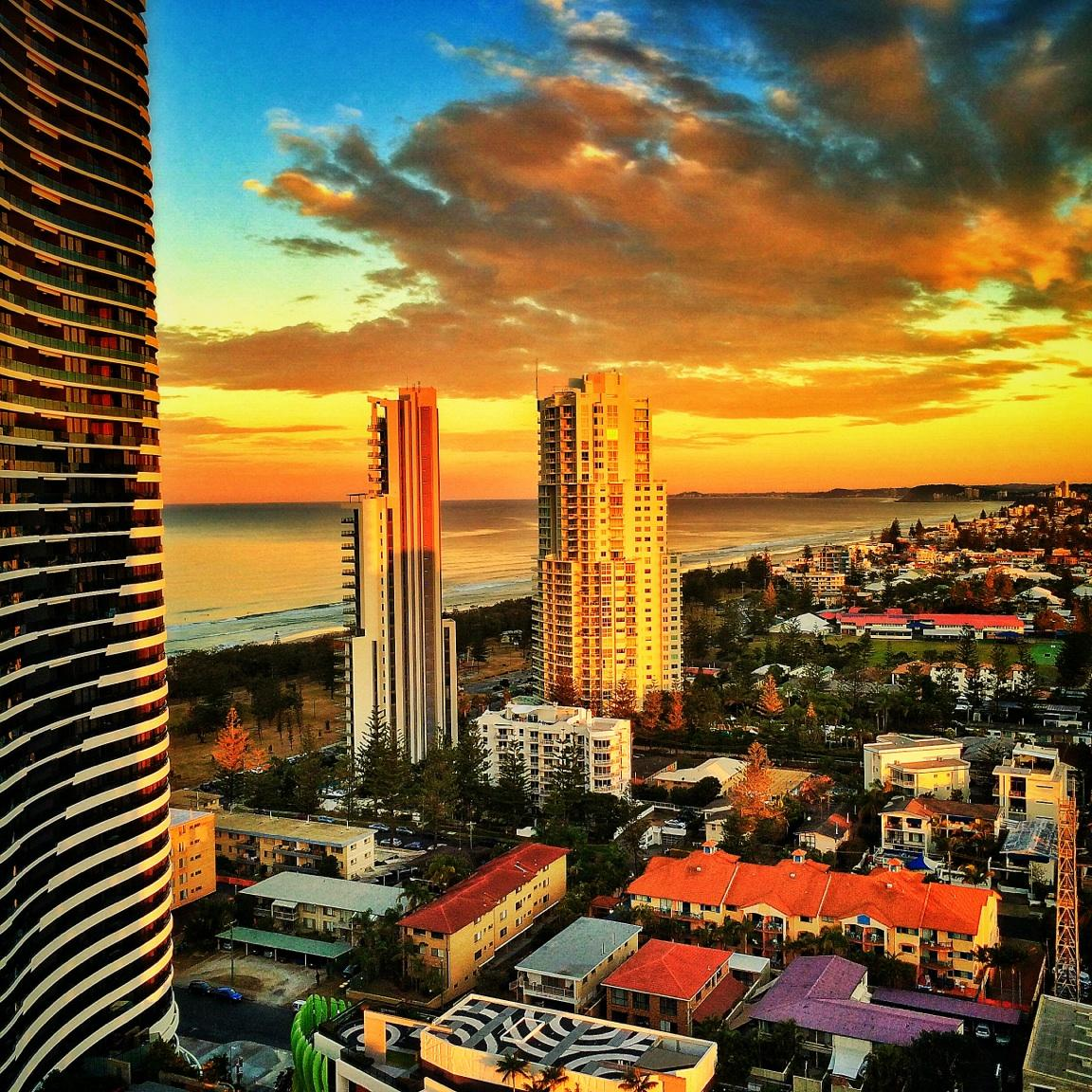 Gold Coast Sunset 😍 http://t.co/dy97kCuNR1