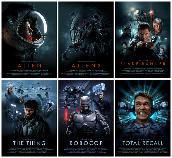 All 6 movie posters are now up on my store, including the latest addition, Total Recall. http://t.co/FPZUhcNXL7 http://t.co/VCxIlwNHdq