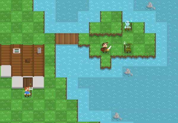 Some more land tile tests, starting to get somewhere now #pixelart #gamedev http://t.co/vpR6XpKxdG