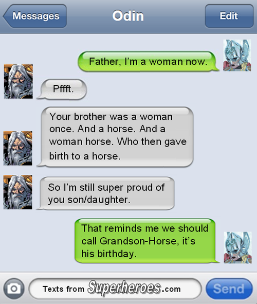 #allthewin cc @Yuricon RT @jimsyjampots For people griping about a female Thor, @SuperheroTexts nails it http://t.co/Qb63iM7z59