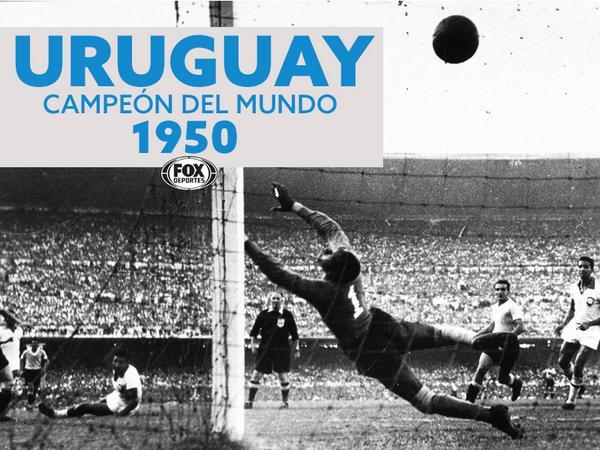 ¡64 años del #Maracanazo!  En un día como hoy, Uruguay venció a Brasil en la final del Mundial. http://t.co/FT6aMvJxRp