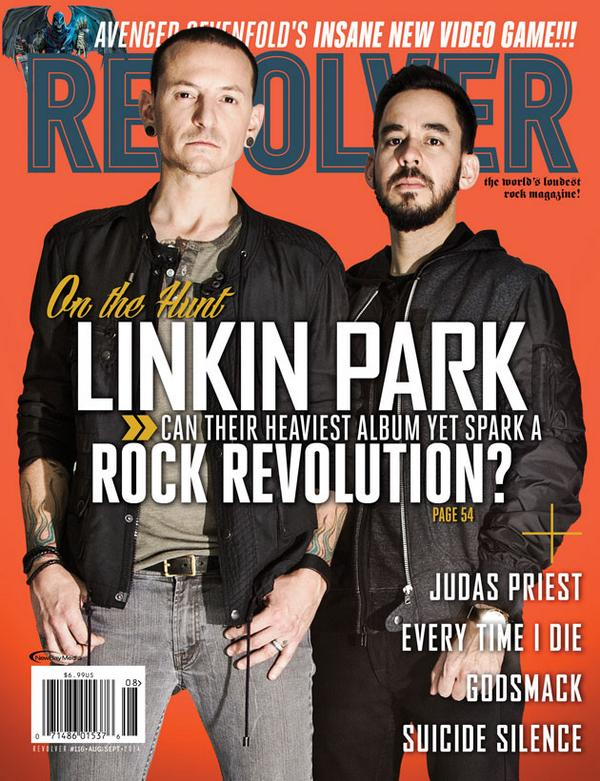 SNEAK PEEK: @linkinpark's @ChesterBe & @mikeshinoda on next cover, out 7/29! Read an excerpt: http://t.co/EwZTTo82yZ http://t.co/39af6TiiOL