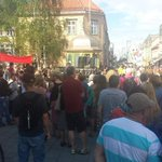 RT @helgespresso: People of Tromsø shows their solidarity with friendship-city #Gaza today. http://t.co/inWkGMgoQO