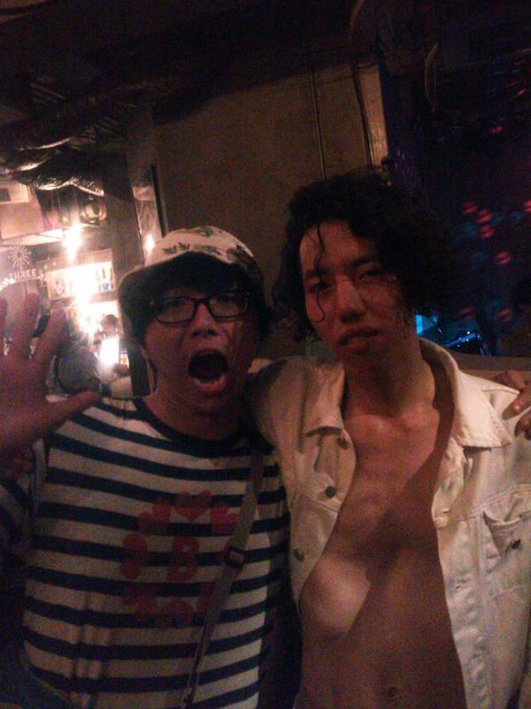 桃野くんとアンドレ! http://t.co/KsAOU8mMU8