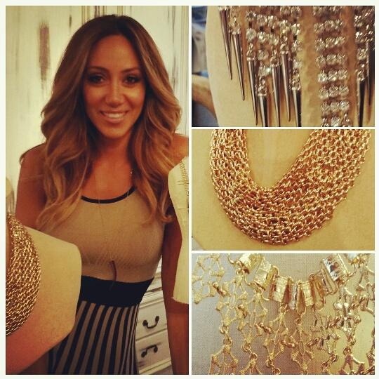 Bold statement pieces from #RHONJ @MelissaGorga new line for @HSN #jewelry are perfect for #Hamptons galas http://t.co/thFltNXU23
