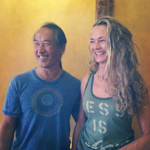 Pure joy practicing at @TheYogaShanti with @rodney_yee and @colleensaidman   #LoleNY http://t.co/e9xT0iioED
