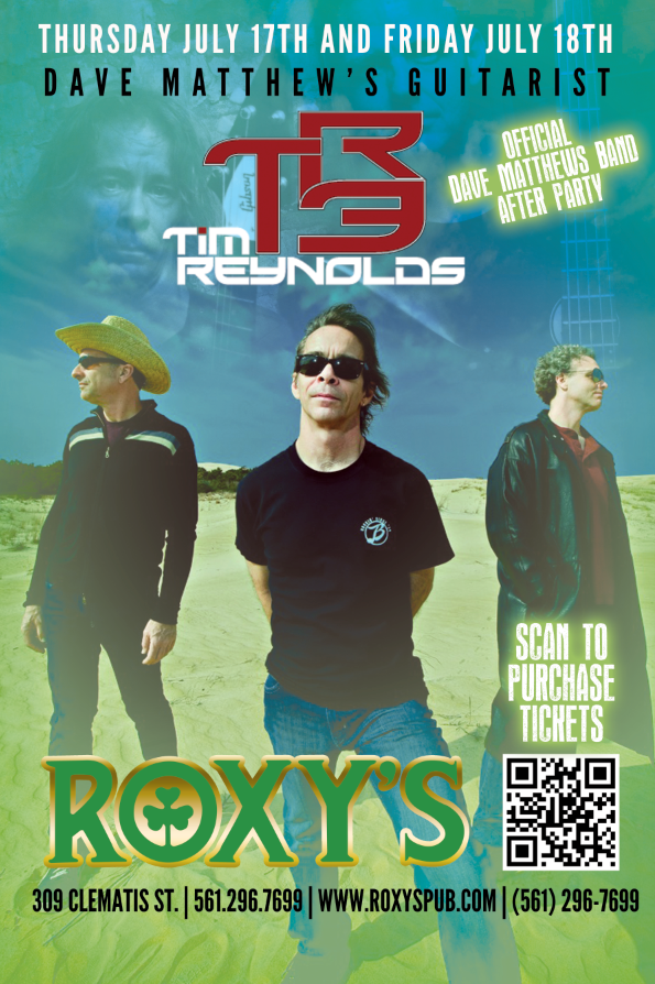 Thur 17th & Fri 18th #TR3 LIVE @RoxysPub in @DowntownWPB, FL You can get advance tix: http://t.co/h0NEEri3TX Peace http://t.co/eoEWPeBw8z