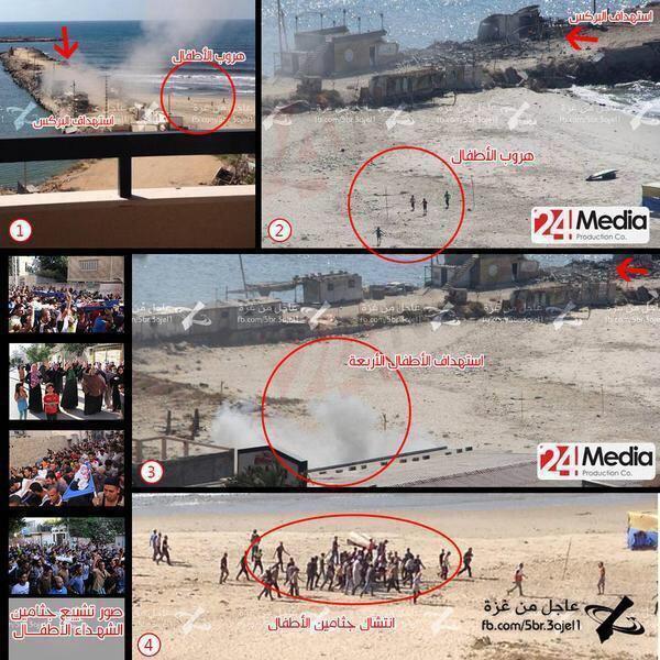 صورة من أهم الصور التي تظهر عدوانية الصهاينة وتعمدهم استهداف أطفال #غزة والتي يبنى عليها حملة اعلامية عالمية فانشروها http://t.co/uyahHAWhBH