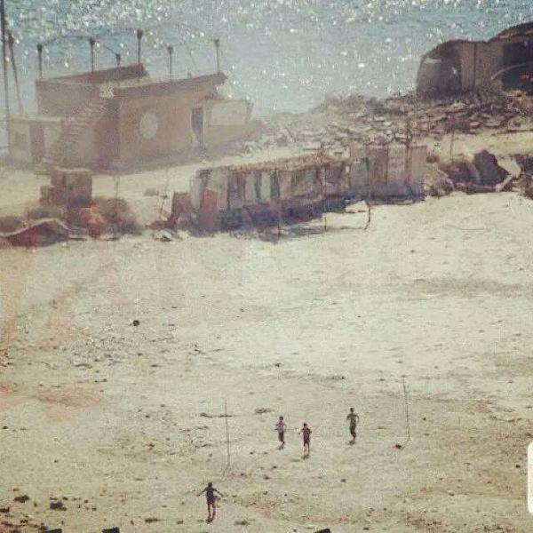 Haunting still of the four kids running moments before they were murdered by an Israeli strike http://t.co/LLv7s6XLd1