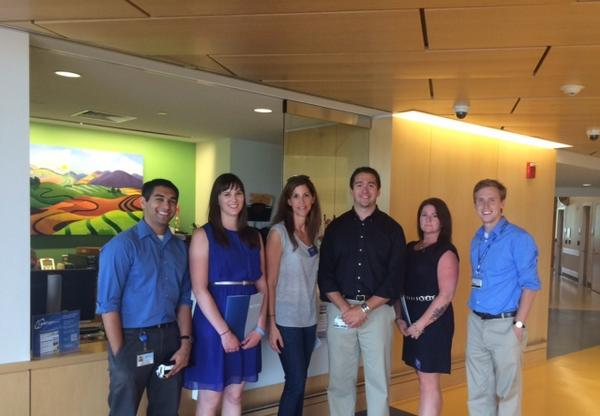 DonorDrive Team having a great day at the amazing Hershey Children's Med Ctr with @fourdiamonds http://t.co/IIMhotPa44