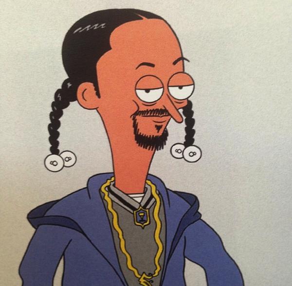 Here's a rough @SnoopDogg design @PunksGitCut worked up! #SanjayandCraig #StreetDogg #Nickelodeon http://t.co/c1p4zH2xsg