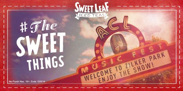 Follow us to celebrate #TheSweetThings with chances to win prizes like a VIP trip to ACL! http://t.co/lHWANlGplr