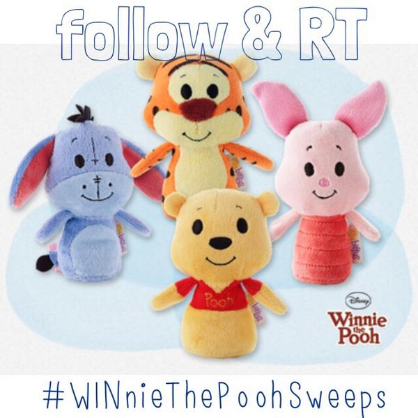 Safe to say, we're beyond obsessed with these little guys! Follow & RT to win #WINnieThePoohSweeps http://t.co/u3jPEu4M7Q