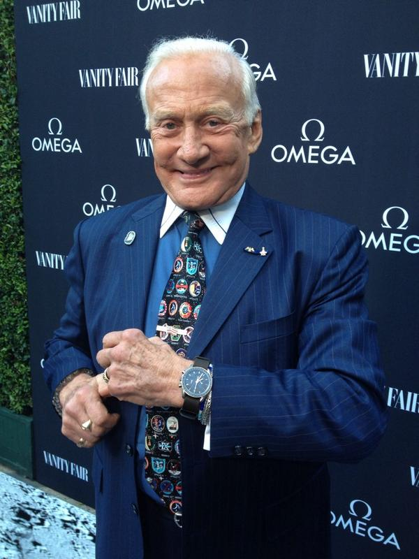 I'm in LA promoting the #OMEGAApollo45 watch commemorating the Apollo 11 Anniversary. What do you think? #Apollo45 http://t.co/0ELhyMNLLK