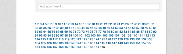Yes. This is how @LinkedIn does pagination. http://t.co/741ojcorvS