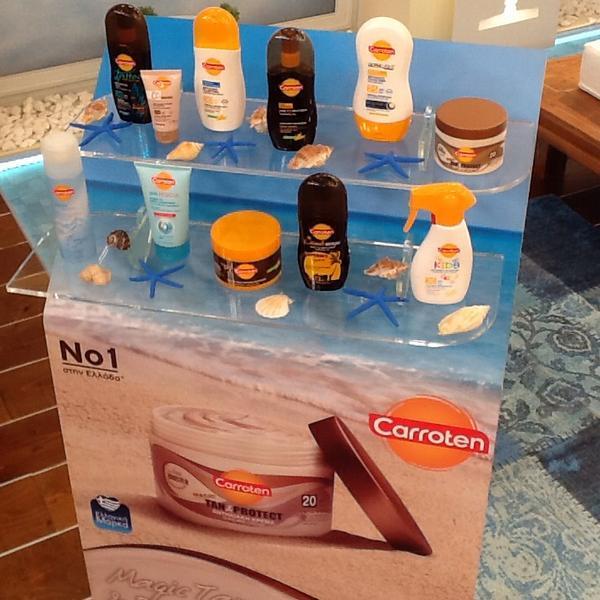 Katerina Kenourgiou (@katrinken): Κάντε RT και 5 τυχεροί από εσάς θα κερδίσετε πακέτα προϊόντων #carroten #KalokairiPantou @ALPHA_TV http://t.co/WGN1uw5FHN