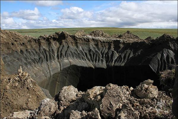 Gorgeous pic RT @siberian_times: New pictures from inside the 'gigantic' hole on the Yamal! http://t.co/BwzusZWRXp http://t.co/m2pHAvoqeO