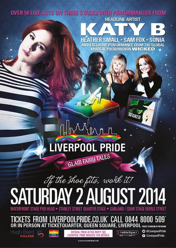 COMPETITION TIME!!  JUST RT THIS TO BE IN WITH A CHANCE OF WINNING A PAIR OF TICKETS TO #LIVERPOOLPRIDE 2014 http://t.co/Bmnmyl5E6K