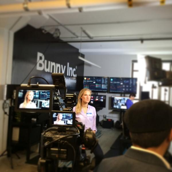 Filming at @Voice123 @VoiceBunny #datadriven #SanFrancisco http://t.co/FLUMPIAkW4