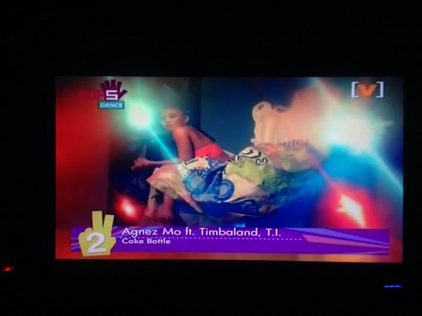 NEZindaCLUB OFFICIAL (@NICofficial): Coke Bottle @agnezmo ft. @Timbaland & @Tip #TOP2 on @channelv