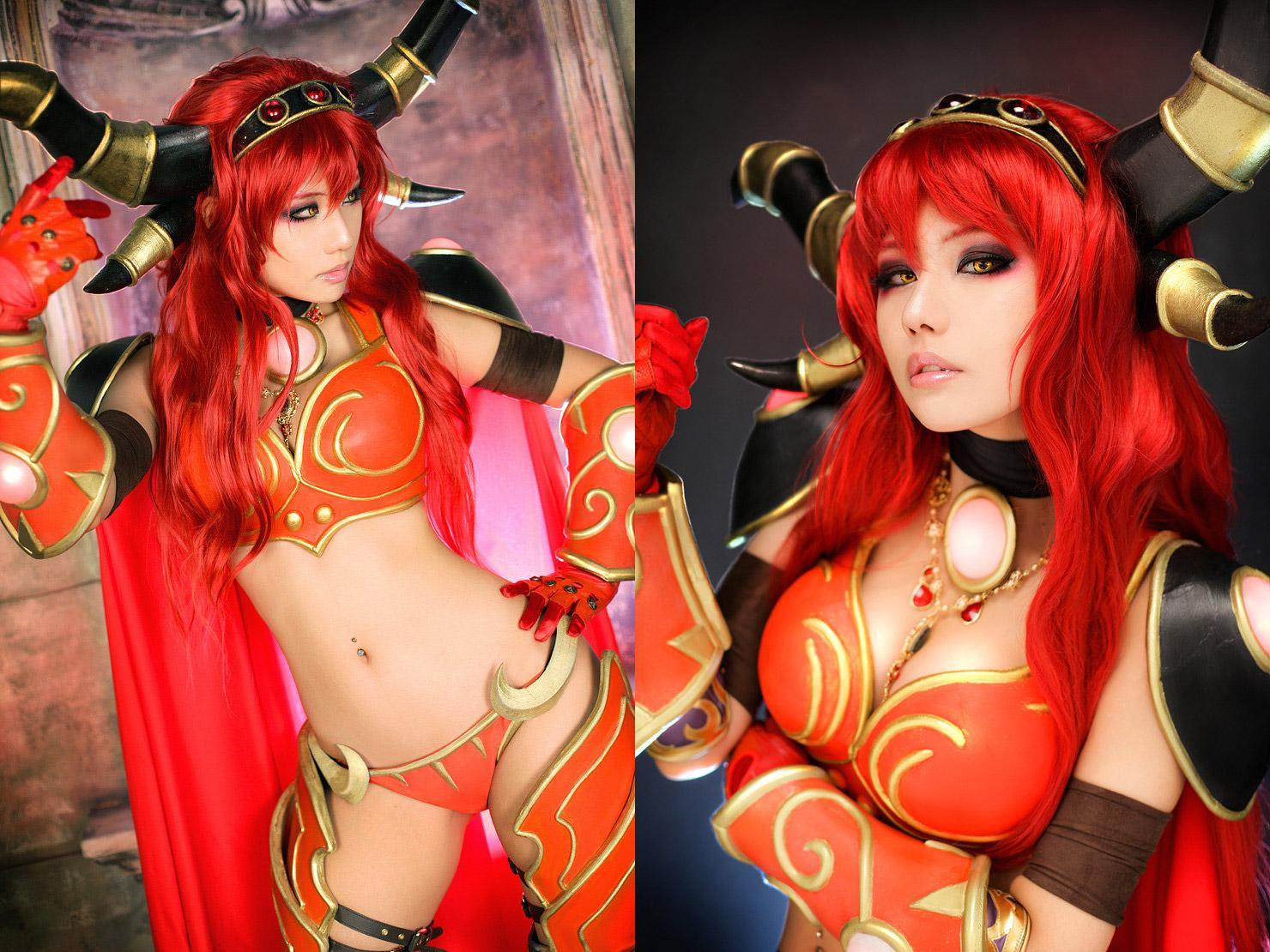 Alexstrasza (World of Warcraft) par Tasha #wow #cosplay http://t.co/cObymG2ISx