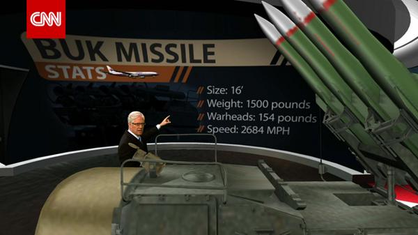 Panjang 16 kaki, berat 1500 pound, speed 2600 mph. Missile yg berupaya menembak ketinggian 33,000 kaki #MH17 http://t.co/PskUFTTSya