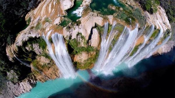 #NosEncantaElAgua #CuidaElAgua . Cascada de Tamul #SanLuisPotosí México,  La fotografía es de @postandfly http://t.co/tfxgbW1bPg