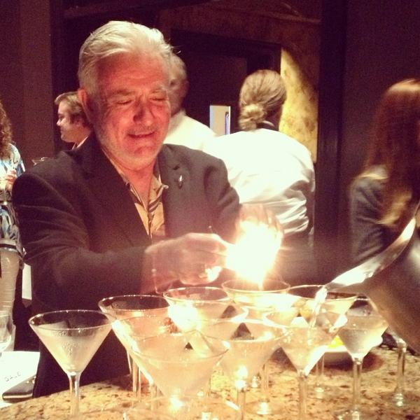 Our spirited dinner is off to fiery start with Elyx Martini garnishes flamed by @kingcocktl, himself! #totc http://t.co/CHBgWy6J8l