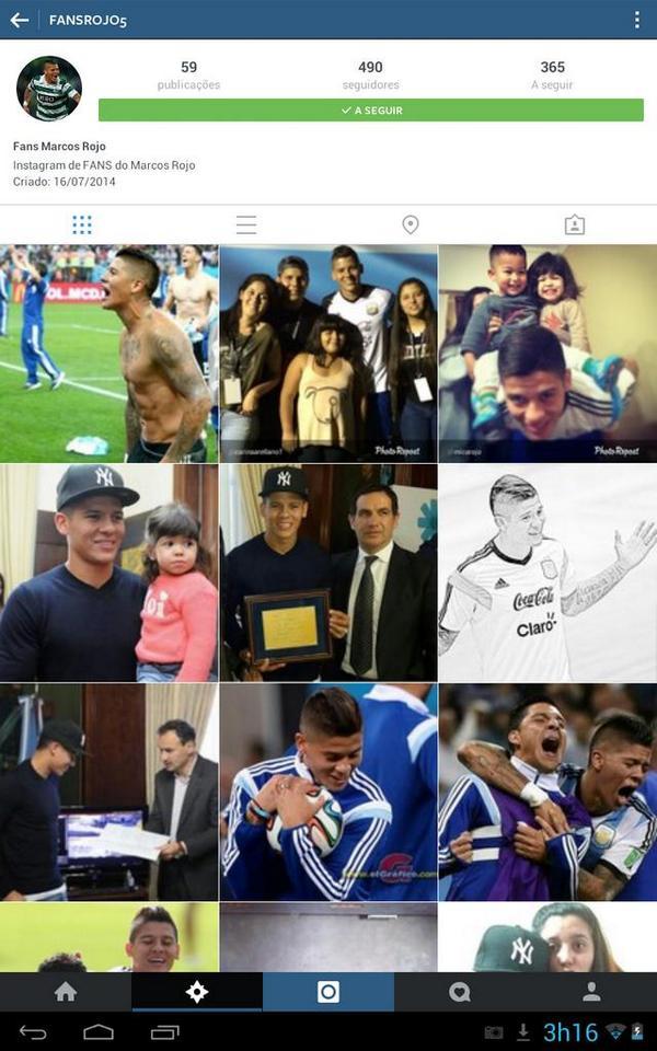 Também no Instagram! http://t.co/mSsCwXkDaZ