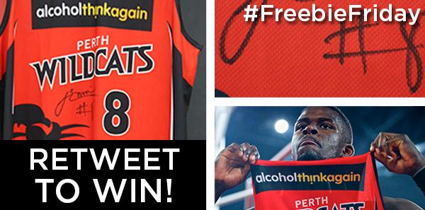 RETWEET THIS and you will go into the draw to WIN this signed JAMES ENNIS Wildcats jersey! #FreebieFriday #RedArmy http://t.co/3nb2L4deZW