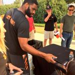 "Jermaine Gresham steals my mic to mess with people. Then says, ""Dont tweet that!"" #Bengals http://t.co/BWGpO66a3M via @FOX19Jeremy"