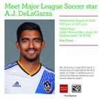 RT @AnnPennWF: #LosAngeles #Futbol fans Wed. Aug 6 from 3:30-5 meet #Soccer star @AJD_20 from @LAGalaxy at #BaldwinPark @WellsFargo http://t.co/Q4cBKMUdOd