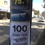 RT @vpsn: Street posters: the aquarium debate. Davie & Jervis. http://t.co/oCCzIg2gRq
