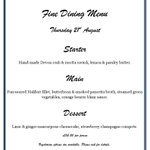 #Worthing Taking bookings for our next fantastic Fine Dining Evening! http://t.co/RbIFicIX63