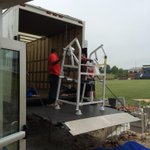 New Strength & Conditioning equipment beginning to arrive at the Eagles new Football Operations Center! G.A.T.A! http://t.co/3KthM27IJU