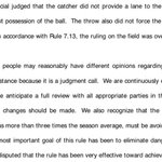 "#MLB said ""it is a judgment call."" Then why is the JUDGMENT of on-field ump erased by judgment of Replay Official?  https://t.co/WJ5dZcYggg"