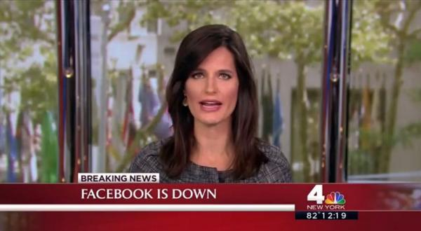 This is the world we now live in: #Facebook outage leads TV news bulletins. #FacebookDown | http://t.co/Clz79tY9j9