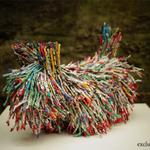 """@edfringe: This little Scottie dog was made from old #edfringe programmes! Now THATs #unboring! http://t.co/DacXqz2JZP"" so cool!"