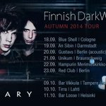 RT @raindiary: Finnish DarkWave - Autumn 2014 Tour! Hope to see you all next fall - its going to be one hell of a BLAST! http://t.co/5k6mTOfjX7