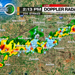Strong storms moving through heart of viewing area. Heavy rain, small hail and lightning. #INwx #MIwx http://t.co/3d9J3tpq7d