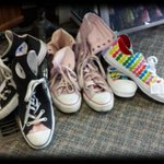 Converse anyone? #fashionrecycled #yyc #converse http://t.co/bpxnwtPVoq