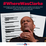 RT @onewisconsinnow: Milwaukee County wants to know #WhereWasClarke? https://t.co/Mn2LR9iKRR http://t.co/S4iCu3kdDD