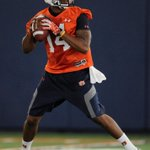RT @WarBlogle: Them shorts clean. WE @mickeywelsh: Quarterback Nick Marshall throwing passes during #Auburn first practice #wareagle http://t.co/5omlYwvsAI