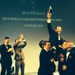 RT @WorldClassUS: We have a winner!! Charles Joly has been named 2014 Diageo World Class Bartender of the Year! Congratulations Charles http://t.co/ZQwrAz8dcJ