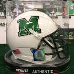 RT @AaronGoebbel: Marshall mini helmets have arrived. Refer someone to order @HerdFB season tix and Cato and Doc will sign and send. http://t.co/ei2fBg2eNt