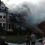 Heres another photo of the fire at Elmwood Avenue near Lafayette in #Buffalo. http://t.co/wHGCYxhnqq